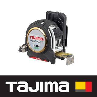 日本 田島Tajima 剛厚包膠捲尺 5米 x 25mm/ 台尺(附安全扣/W磁鐵) GASFGLWM2550S