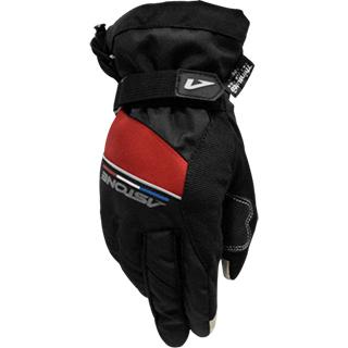 【ASTONE】W103A(黑紅)冬季防水騎士手套