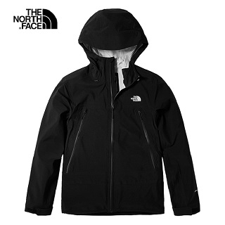 The North Face 男 黑色防水透氣衝鋒衣-NF0A46LAJK3