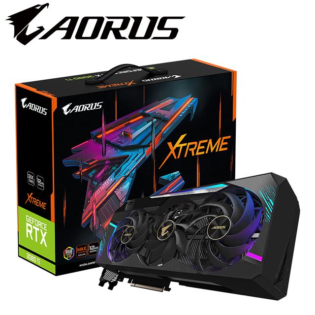 技嘉 AORUS GeForce RTX™ 3080 Ti XTREME 12G 顯示卡