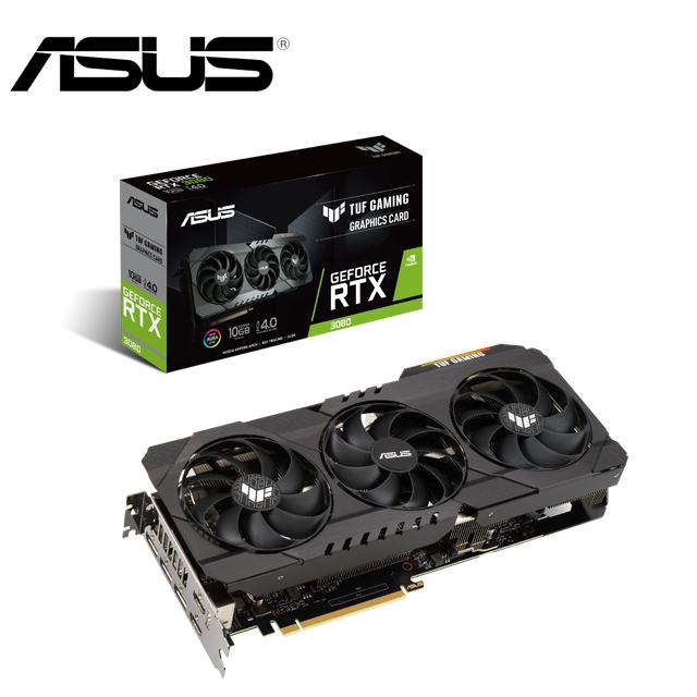 ASUS 華碩TUF GeForce RTX™ 3080 O10G GAMING 顯示卡