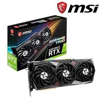 微星 GeForce RTX3090 GAMING TRIO 24G 顯示卡