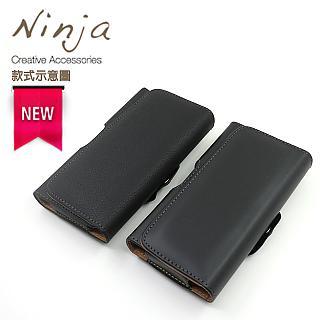 【東京御用Ninja】SAMSUNG Galaxy A52 5G版本 (6.5吋) 時尚質感腰掛式保護皮套